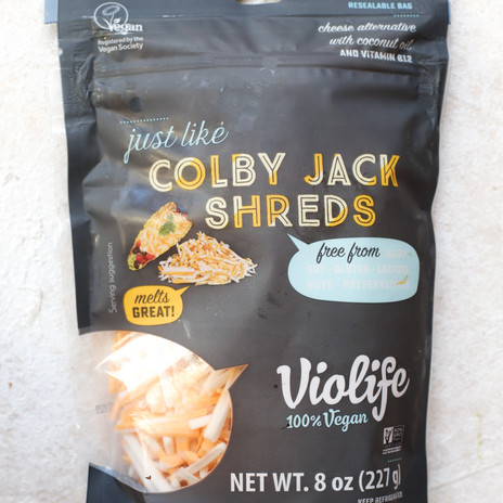 Violife Brand Colby Jack Shreds