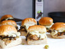 Mushroom Cheesesteak Sliders