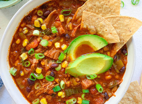 Jackfruit Taco Soup