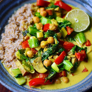 Thai Basil Coconut Curry