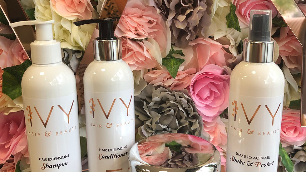 IVY Hair Extension Care Bundle