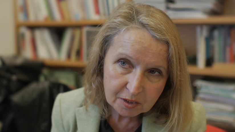 """""""La frontière"""" par Catherine Wihtold de Wenden - Politologue, directrice de recherche au CNRS [Centre de recherches internationales (CERI) - Sciences Po, Paris, France]."""