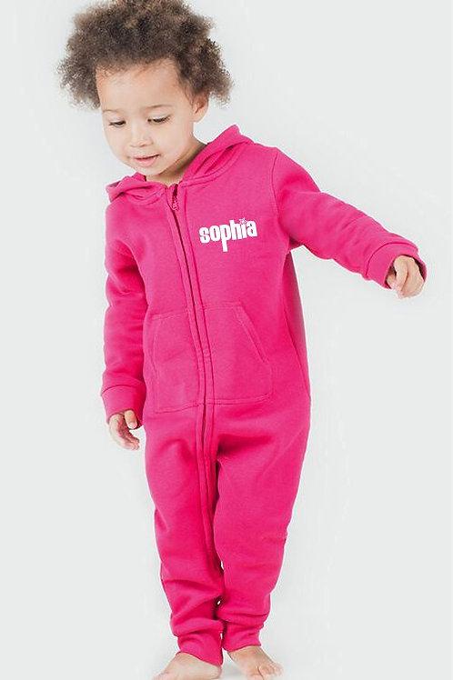 Personalised toddler onesie