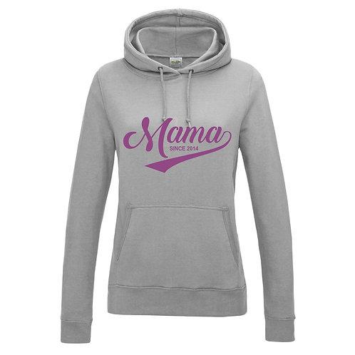Personalised Mum since..... hoody