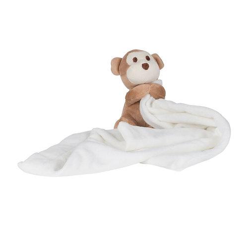 Baby comforter - monkey