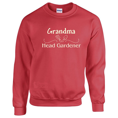'Head Gardener' sweatshirt