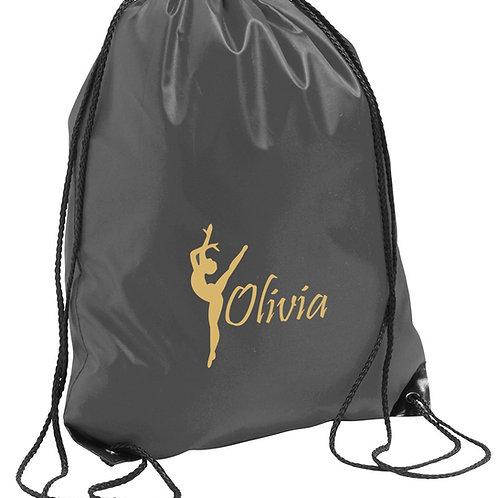 Childrens personalised PE bag - dancer design