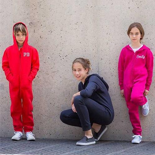Personalised kids onesie