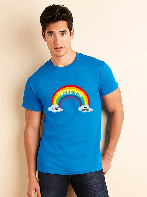 Rainbow t-shirt Thank you NHS & key workers