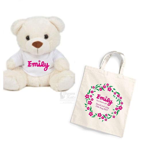 Flower girl gift bundle