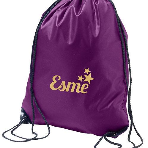 Childrens gym sac / PE bag - Stars