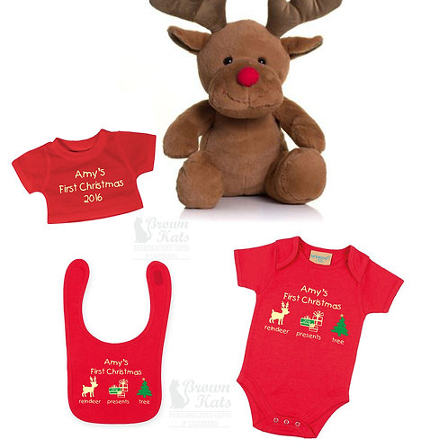 'Baby's first Christmas' gift bundle