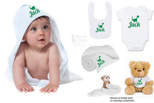 5 item New baby gift bundle