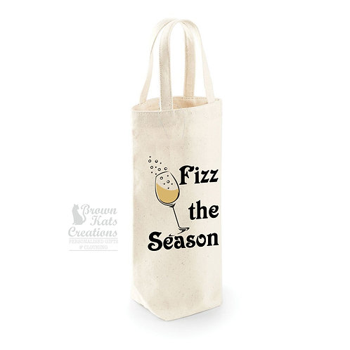 Fizz the Season bottle bag