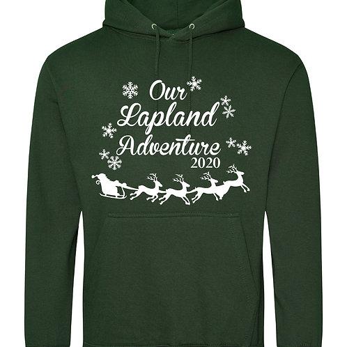 Lapland adventure printed hoody
