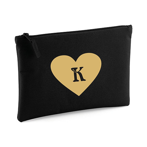 Heart make up / accessory bag