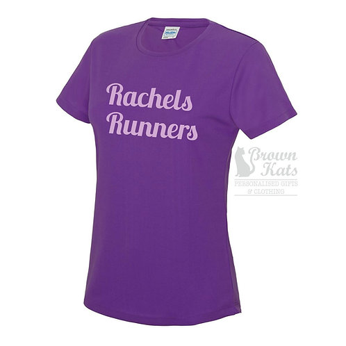 Womens printed sports t-shirt