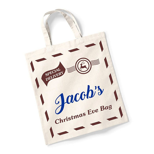 Special delivery Christmas Eve bag