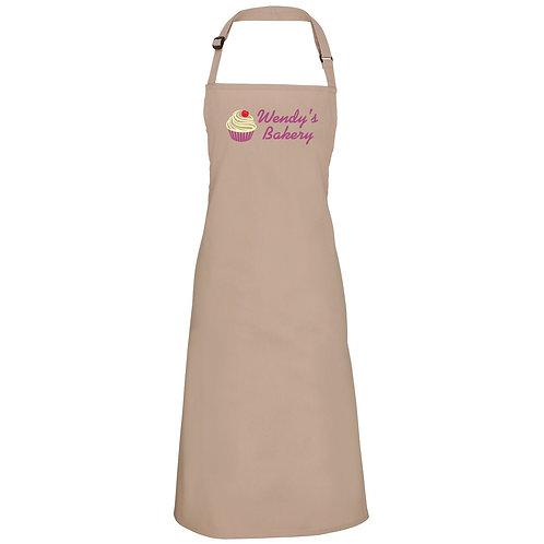 Personalised 'Cupcake Bakery' apron