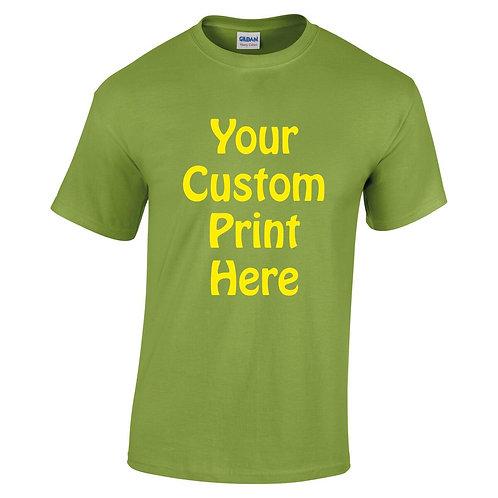 Custom print kids t-shirt