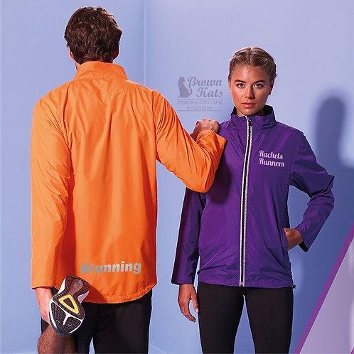 Printed running jacket