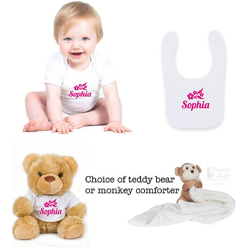 3 item New baby gift bundle