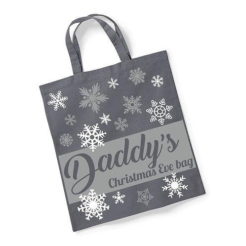 Snowflake Christmas Eve bag