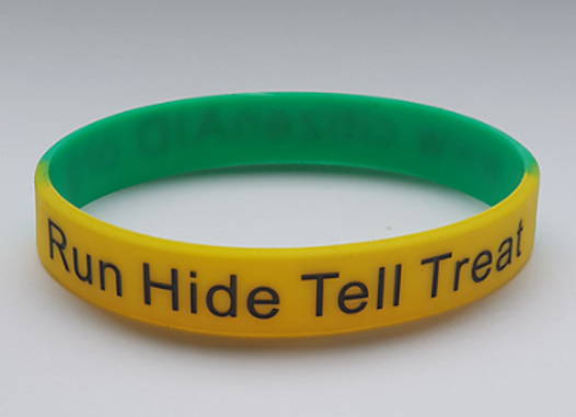 citizenAID wrist band