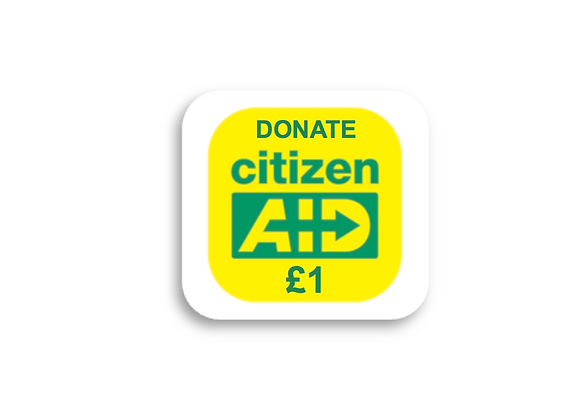 Donate £1 or more and help us deliver our message to the public
