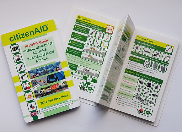 REVISED and ENHANCED citizenAID Pocket Guide 2018