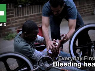 Bleeding Heavy -Red Cross Video Gives Advice