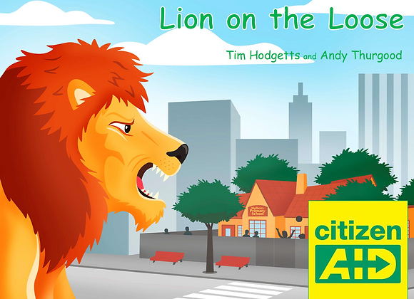 Lion on the Loose (Hard copy)