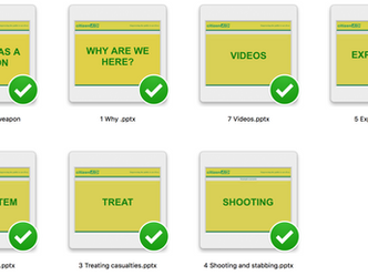 Updated Resources from citizenAID released