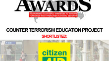citizenAID Shortlisted for Counter Terror Awards