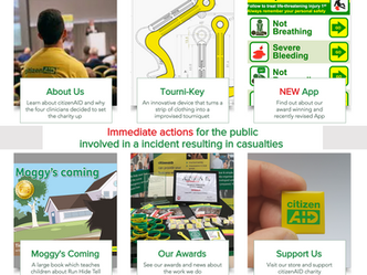 NEW revised citizenAID website is launched