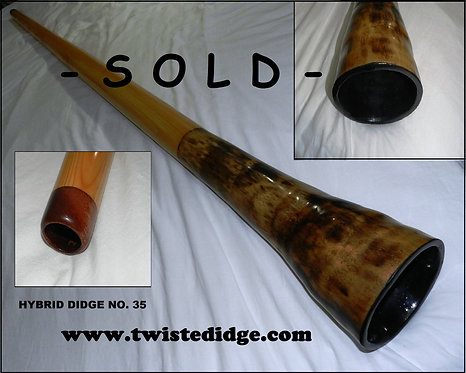 SOLD Hybrid Didgeridoo 035