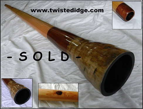 SOLD Hybrid Didgeridoo 034