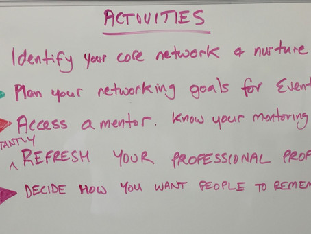 Networking for scientists - it's the same process in a COVID world!