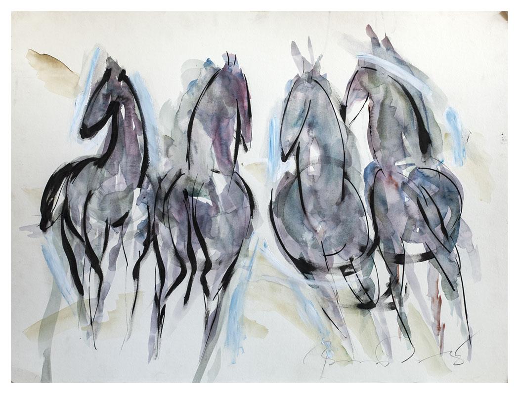 IMPRESSIONIST HORSES