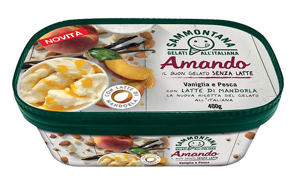 Amando | Vanilla + Peach - 400g