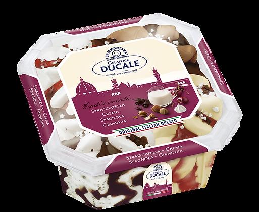 Ducale | Stracciatella/Vaniglia/Spagnola/Gianduia - 2L