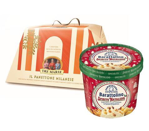 Tre Marie Panettone + Barattolino Spirito Natalizio Bundle