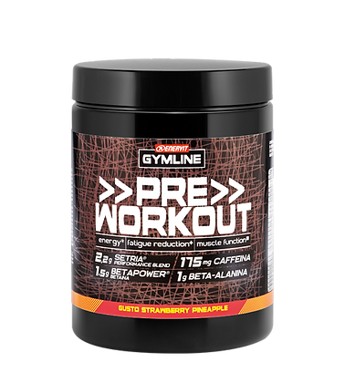 ENERVIT GYMLINE | PRE WORKOUT - Strawberry Pineapple ( 313 g)
