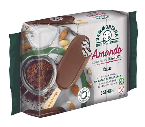 Amando   Vanilla & Cacao x6