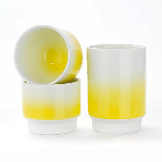 波佐見焼 カップ 黄色
