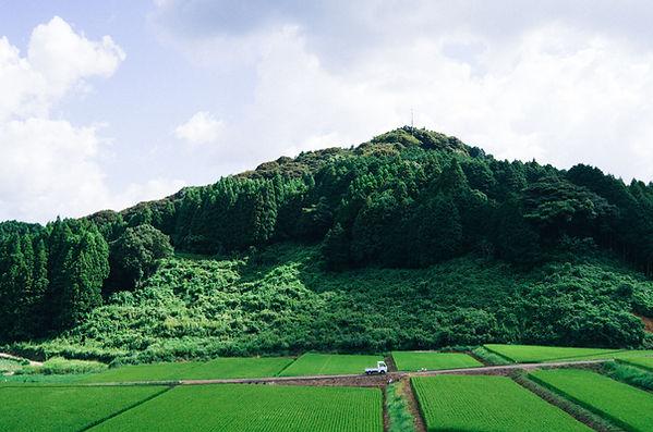 九州の福岡県にある小石原、美しい豊な自然で溢れています。棚田が山に囲まれた観光スポットでもございます。
