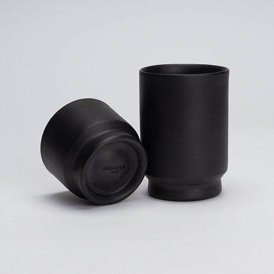 常滑焼 カップ 黒