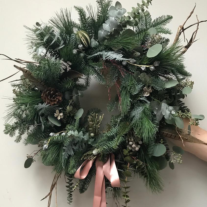 Wreath making in Lewes (Studio 2)