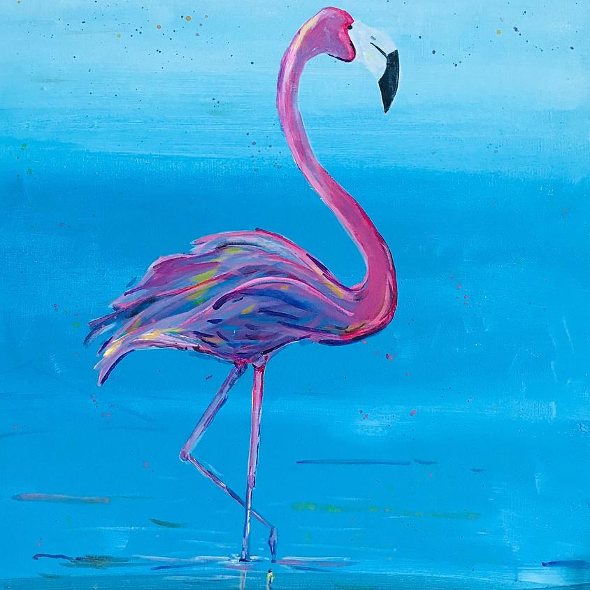 Pink flamingo! - Online event