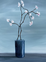 Blossom in a vase